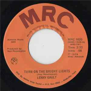 Lenny Gault - Turn On The Bright Lights