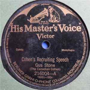 Gus Stone - Cohen's Recruiting Speech / Cohen 'Phones His Taylor MP3