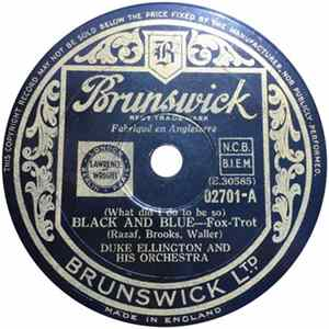 Duke Ellington And His Orchestra - Black And Blue / Jungle Jamboree