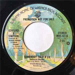 Ashford & Simpson - Somebody Told A Lie